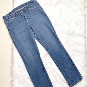 Michael Kors Jeans - Michael Kors Logo Straight Leg Jeans